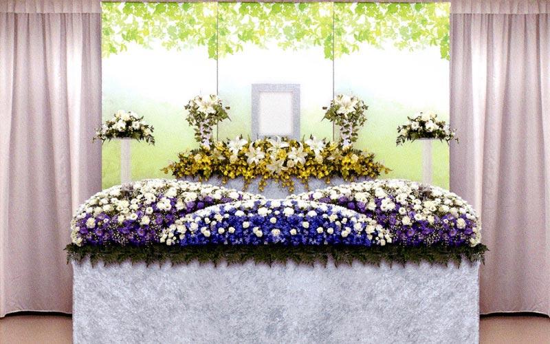生花祭壇/幅3.0m(2段)